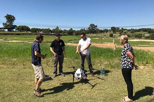M4 Agri Drone Demo
